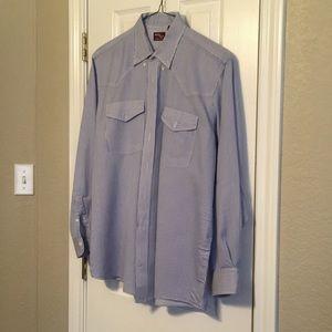 Luskey's Ryon's striped western shirt
